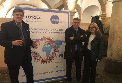 El gerente del Imdeec, Víctor M. Montoro, acude a la inauguración del II Foro Internacional de Mediadores Profesionales