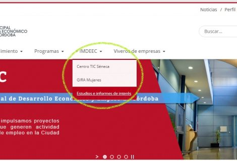 El Imdeec comienza a publicar en su página web estudios e informes de interés