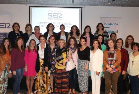 Expertas analizan la situación de las mujeres en las plantillas y dirección de empresas en los encuentros de Radio Córdoba SER