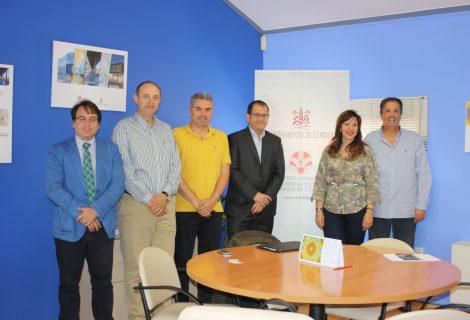 Reunión del Imdeec y Rabanales 21 con una aceleradora de proyectos industriales que desea instalarse en Córdoba
