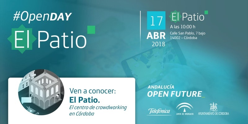Open Day, en el centro de crowdworking El Patio de Córdoba