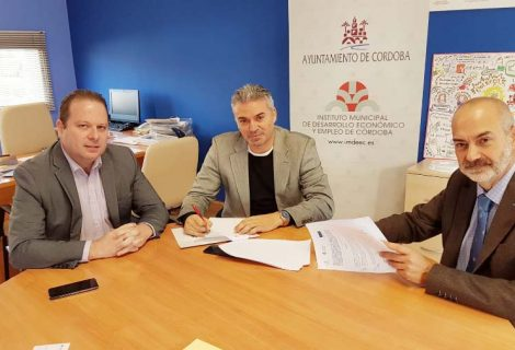 El IMDEEC y ETICOM firman un acuerdo de colaboración para facilitar las prácticas en empresas de los alumnos del Proyecto Itinerarios de Formación Digital