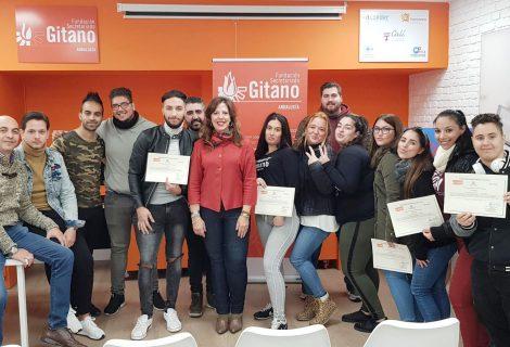 El Imdeec y la FSG en Córdoba clausuran la formación Acceder Innovación Digital, dirigida a jóvenes gitanos y gitanas
