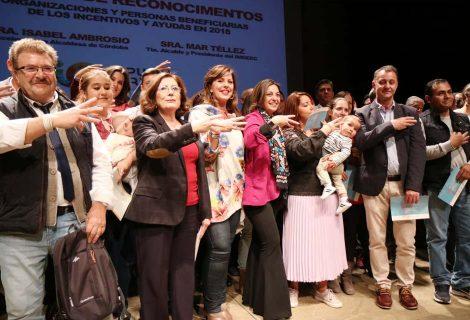 El Ayuntamiento de Córdoba reconoce a las personas, entidades y proyectos subvencionados por el Imdeec en 2018