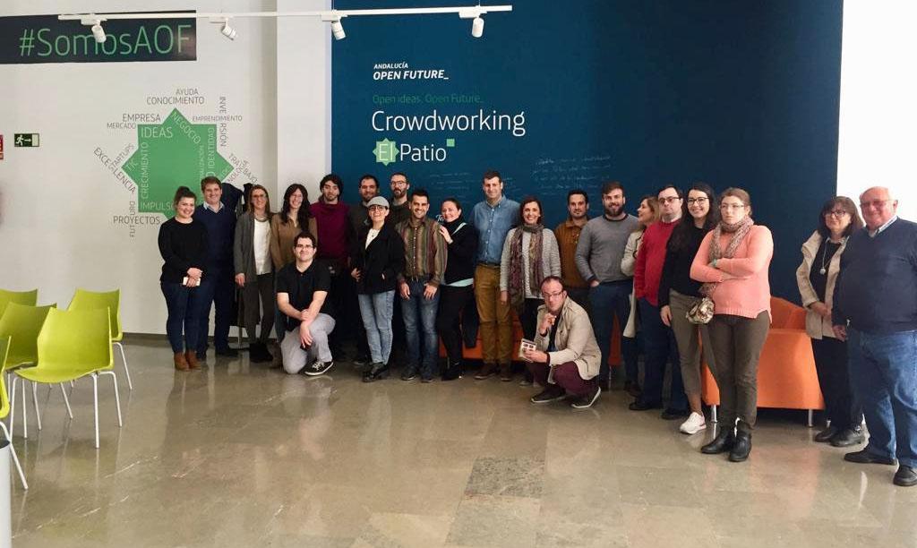 Siete nuevas startups inician su aceleración en el centro de crowdworking El Patio, de Andalucía Open Future