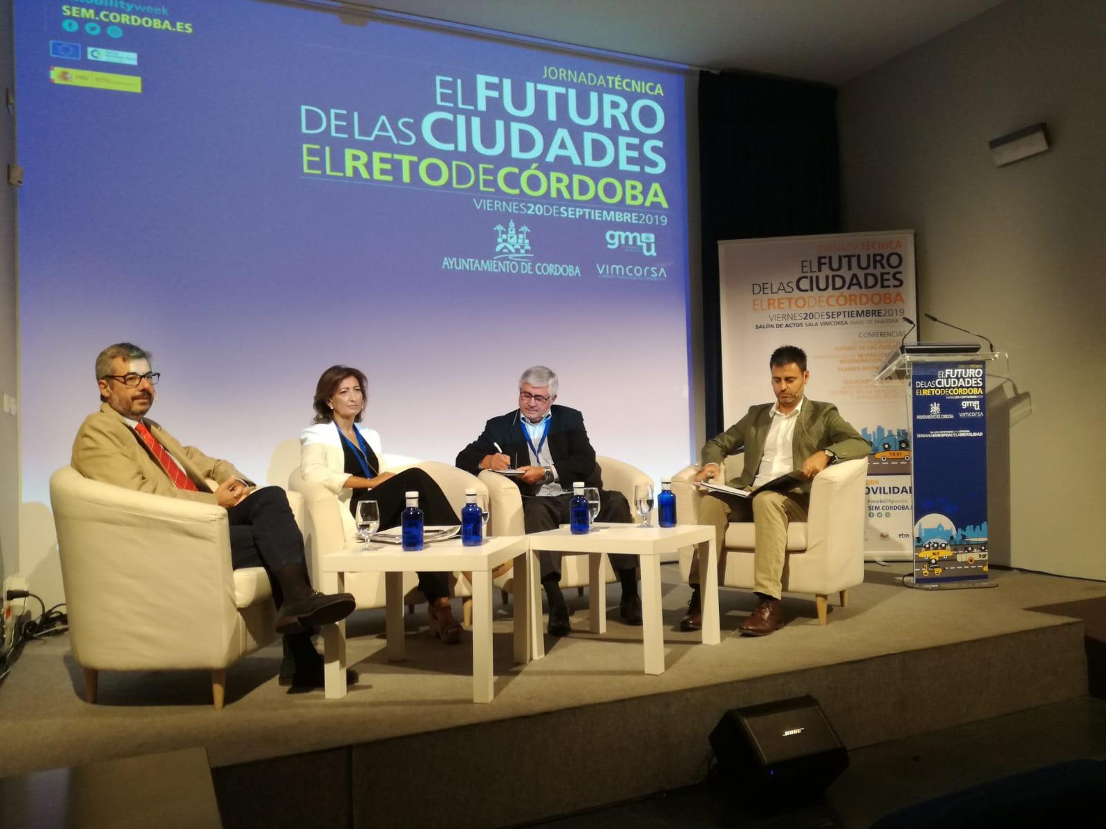 El Imdeec participa en la jornada sobre 'El futuro de las ciudades' dentro de la Semana Europea de la Movilidad