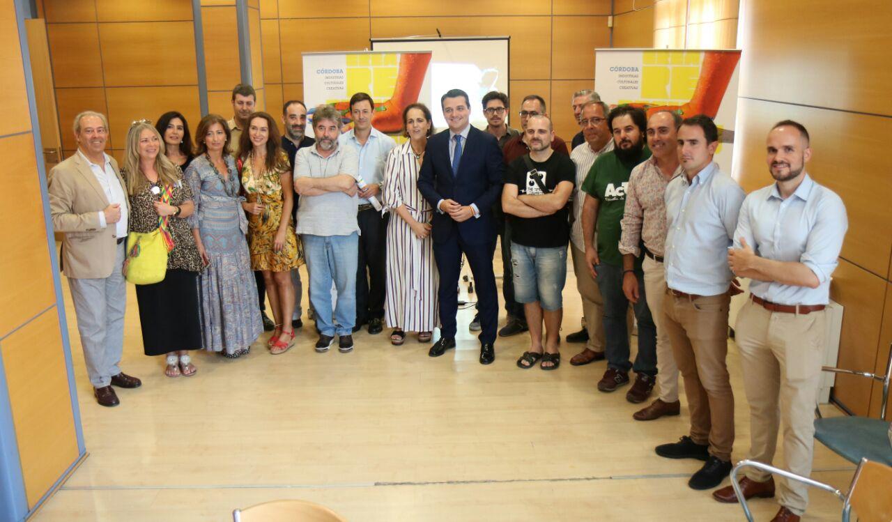 El alcalde de Córdoba y la presidenta del Imdeec clausuran una jornada sobre industrias culturales y creativas