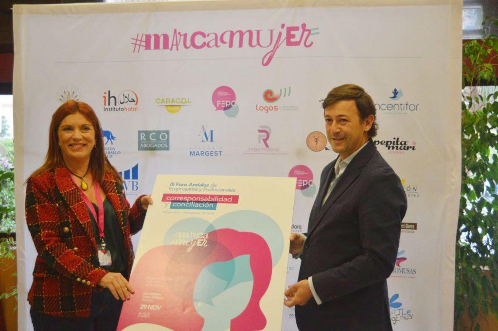 Presentan el Plan Marca Mujer 19 y el III Foro Andaluz de Empresarias y Profesionales, que cuentan con la subvención del Imdeec