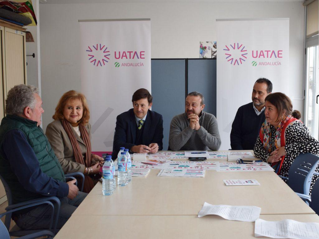 Uatae Andalucía presenta su Plan de activación comercial en establecimientos de cercanía, financiado por el Imdeec