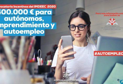 Publicadas las bases de la Convocatoria de Incentivos del IMDEEC para nuevos proyectos de emprendimiento 'Autoempleo2020'