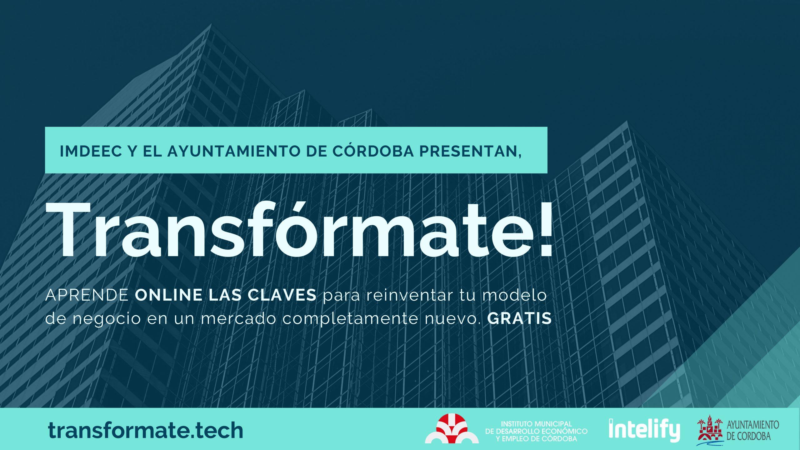 El Imdeec lanza un programa formativo para guiar a las empresas de Córdoba en su proceso de transformación digital