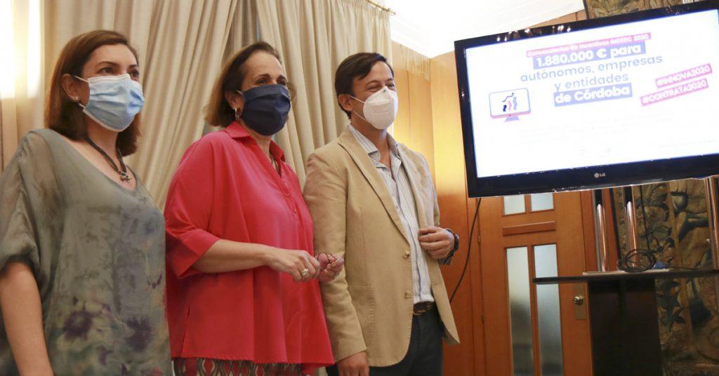 El Imdeec lanza dos nuevas convocatorias de ayudas con 1,88 millones para autónomos, empresas y entidades de Córdoba