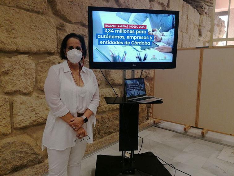 El IMDEEC lanza 3,34 millones de euros en ayudas tras el Estado de Alarma para autónomos, empresas y entidades de Córdoba
