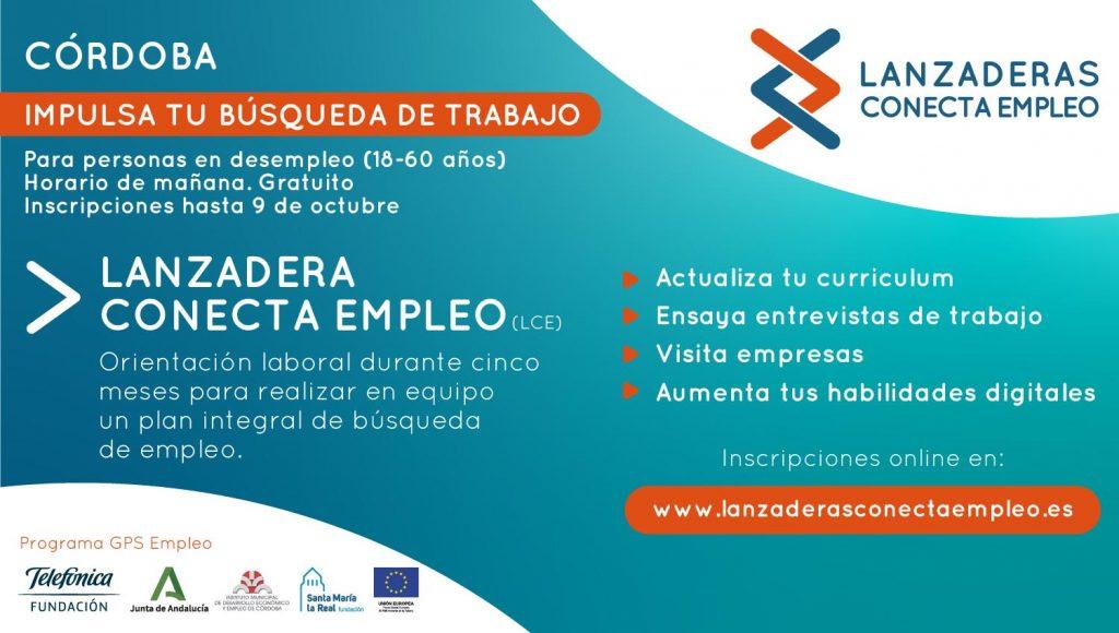Córdoba contará a partir de octubre con una nueva Lanzadera Conecta Empleo