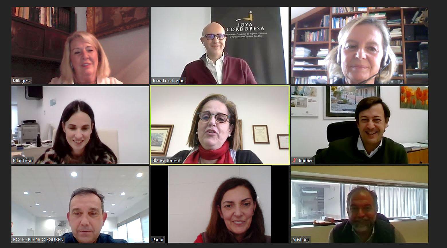 Constituida la comisión de seguimiento del Plan para la puesta en valor de la Joyería de Córdoba del IMDEEC y la Asociación de Joyeros
