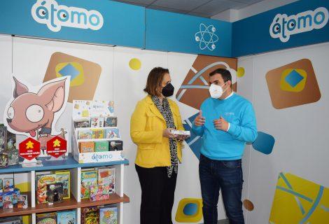 La editorial de juegos de mesa Átomo Games se traslada a los Viveros de Empresas del IMDEEC