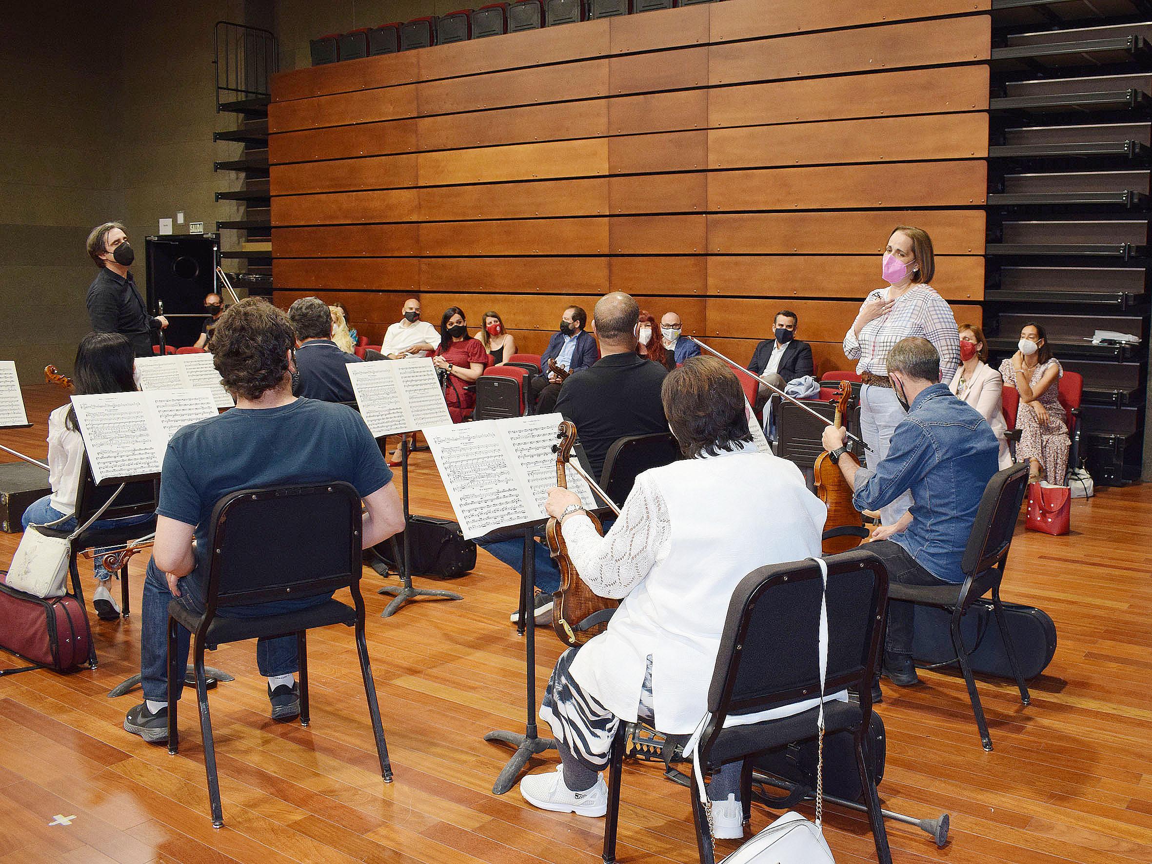 Empresas de Córdoba se reúnen con la Orquesta, en un encuentro promovido por el IMDEEC