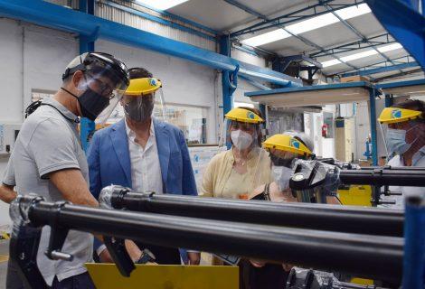 Talleres Corral diseña un software para mejorar la trazabilidad de su producción, con la ayuda del IMDEEC