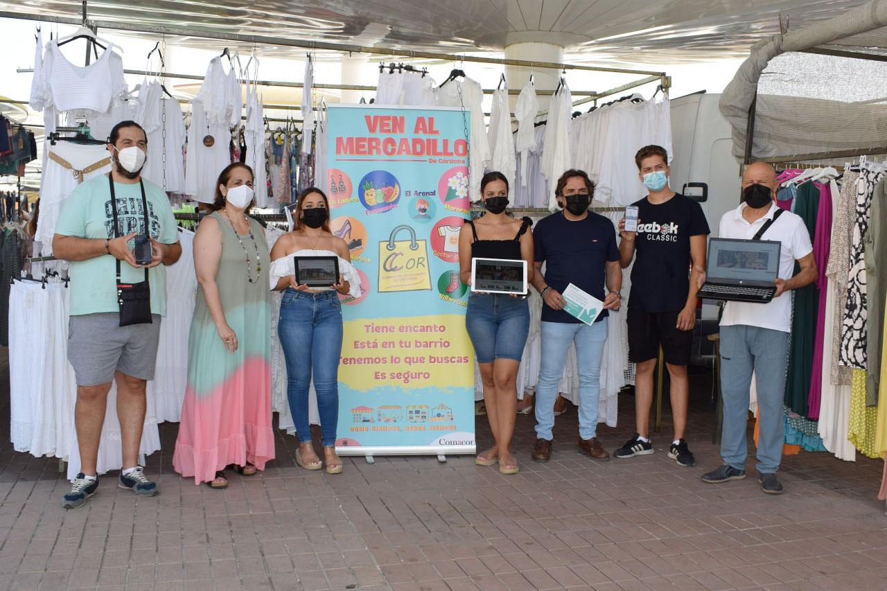 Ambulantes de Córdoba ofertan sus productos en un 'marketplace', en un proyecto financiado por el IMDEEC