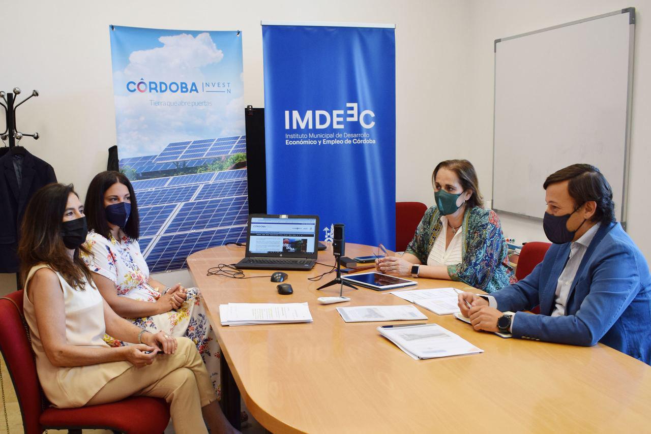 Córdobaactiva lanza una web para ayudar a la implantación de actividades en Córdoba, con financiación del IMDEEC