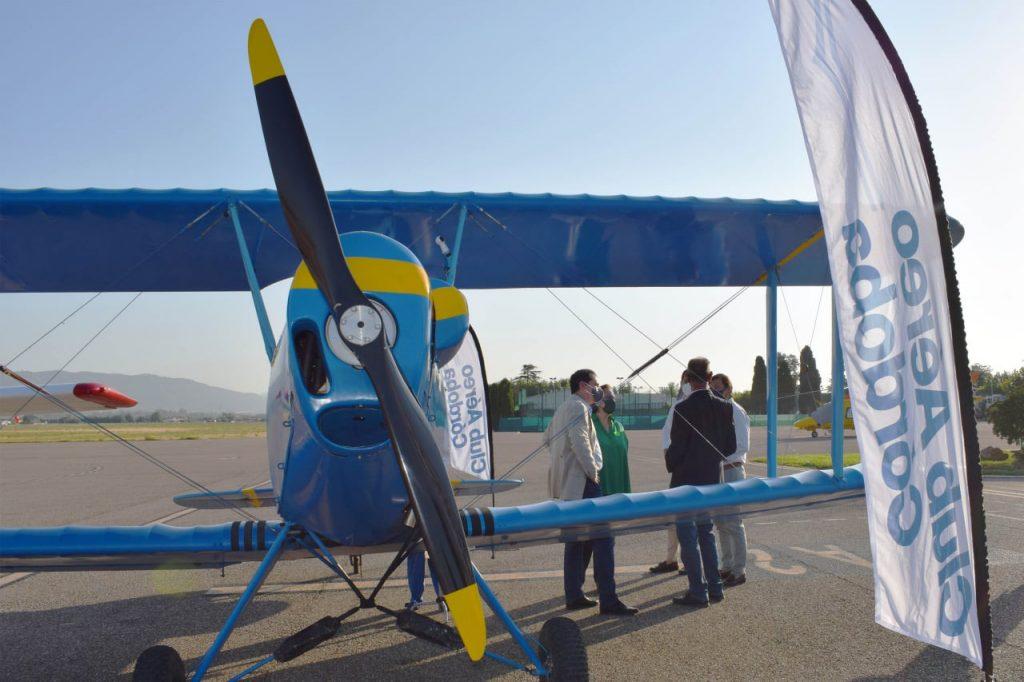 El proyecto 'Volar en Córdoba' une aviación y patrimonio histórico, gracias a la financiación del IMDEEC